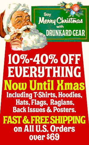 Modern Drunkard Gear's Xmas Sale
